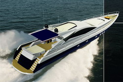 Awnings Design for motor yachts